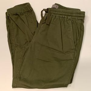 J. Crew Point Sur cotton joggers
